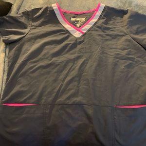 Grey's Anatomy scrub top size XL, gently worn